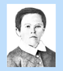 Edison as a child