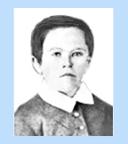 Edison as a child