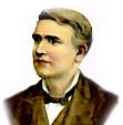 Cartoon of Edison